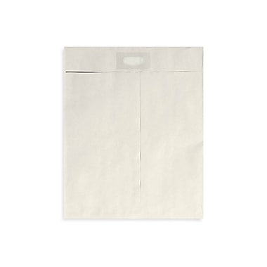 LUX® 28lbs. 10in. x 13in. Spot Seal Envelopes, Gray Kraft, 500/BX