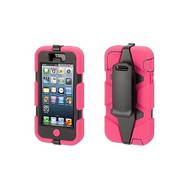 Griffin Survivor iPhone 5/5S Case, Pink/Black
