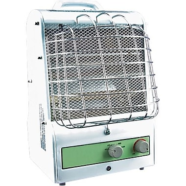 Matrix Industrial Products Portable Fan Forced/Radiant Utility Heater, 120V