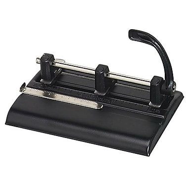 Martin Yale Master® Adjustable 3-Hole Punch, 40-Sheet Capacity