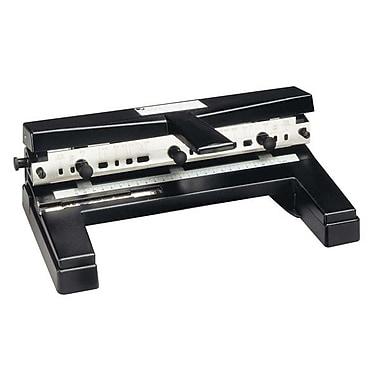 Swingline® Heavy-Duty Hole Punch With 4 Punch Heads, 40-Sheet Capacity