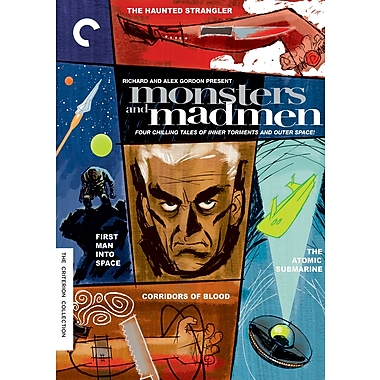 Monsters and Madmen; Four Thrilling Tales of Inner Torments and Outer Space (DVD)
