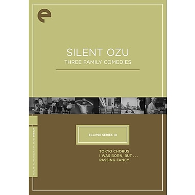 Eclipse Series 10 : Silent Ozu: Three Family Comedies (DVD)