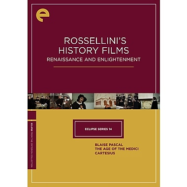 Rossellini's History Films: Renaissance and Enlightenment: Eclipse Series 14 (Criterion) (n/a Quebec) (DVD)