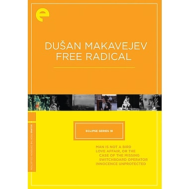 Dusan Makavejev - Free Radical - Eclipse Series 18 (DVD)