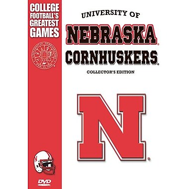 Nebraska Cornhuskers Greatest Games (DVD)