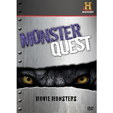 The History Channel: MonsterQuest: Movie Monsters (DVD)