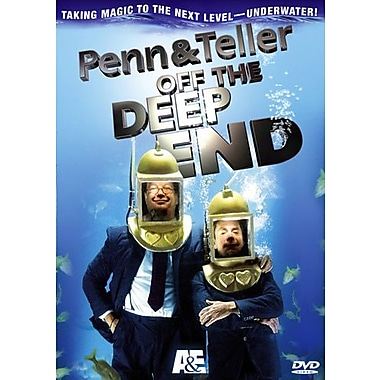 Penn & Teller: off the Deep End (DVD)