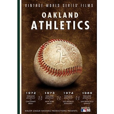 Oakland A's Vintage World Series Film (DVD)