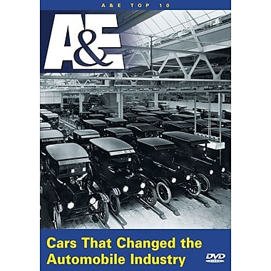 A&E Top 10 - Cars That Changed The Automobile Industry (DVD)