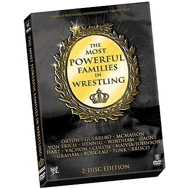 WWE: The Most Powerful Families In Wrestling (DVD)