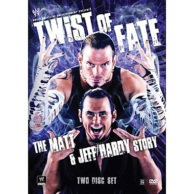 WWE: Twist of Fate: The Matt & Jeff Hardy Story (DVD)