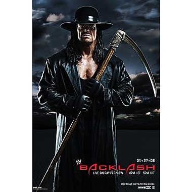 WWE: Backlash: Baltimore, MD: April 27, 2008 PPV (DVD)