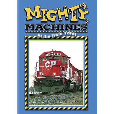 Mighty Machines: At The Train Yard (DVD)