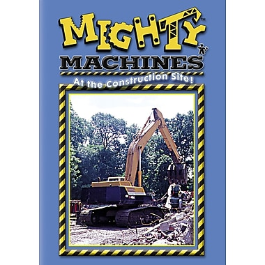 Mighty Machines: At The Construction Site (DVD)