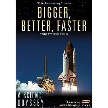 A Science Odyssey - Bigger, Better, Faster (DVD)