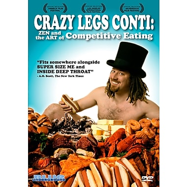 Crazy Legs Conti: Zen and the Art of Competitive Eating (DVD)