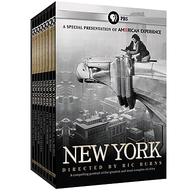 New York: A Documentary Film by Ric Burns (DVD)