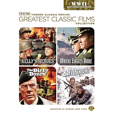 TCM Greatest Classic Films: World War II: Battlefront Europe (DVD)