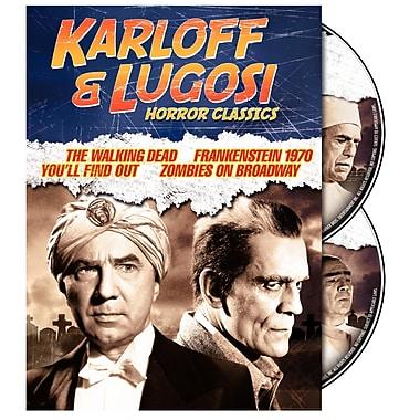 Karloff & Lugosi Horror Classics (DVD)