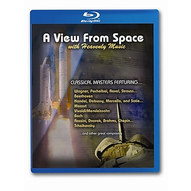 A View From Space With Heavenly Music (Blu-Ray)