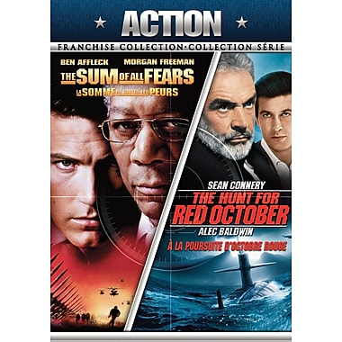 The Hunt For Red October Sum Of All Fears (DVD)
