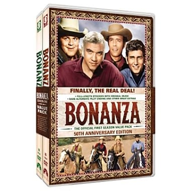 Bonanza: The official First Season, Volumes One and Two (DVD)