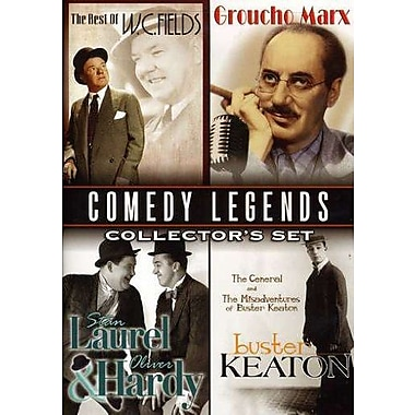Comedy Legends Collector's Set W.C. Fields Groucho Marx Laurel & Hardy Buster Keaton (DVD)