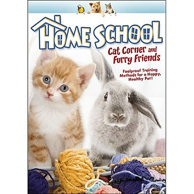 Home School: Cat Corner & Furry Friends (DVD)
