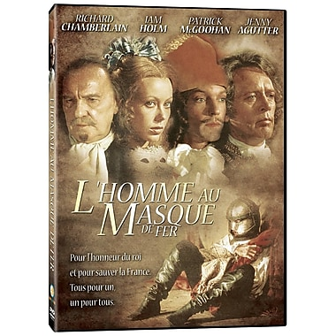 L'homme au masque de fer (v.a. Man in the Iron Mask) (DVD)