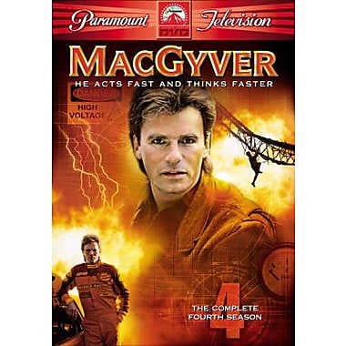 MacGyver: The Complete Fourth Season (DVD)