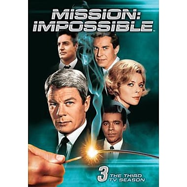 Mission Impossible: The Third TV Season (DVD)