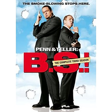 Penn & Teller: B.S.!: The Complete Third Season (DVD)