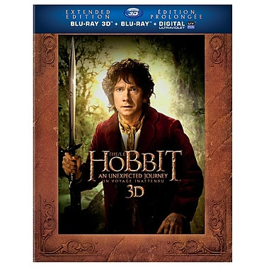 The Hobbit: Unexpected Journey 3D (Extended Edition) (Blu-Ray)