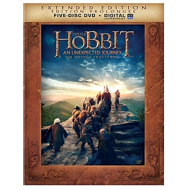 The Hobbit: Unexpected Journey (Extended Edition) (DVD)
