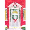 Sunrise Welcoming Wreath Holiday Boxed Cards