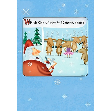 Sunrise Tu Tu Funny Holiday Boxed Cards