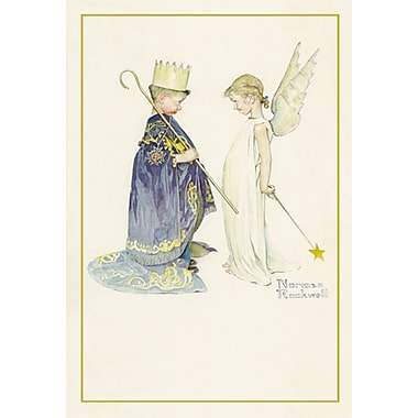 Sunrise Norman Rockwell's Pageant Christmas Boxed Cards