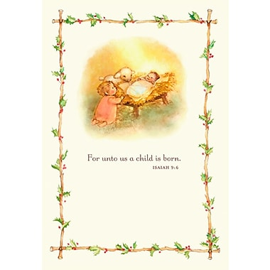 Sunrise Nativity Christmas Boxed Cards