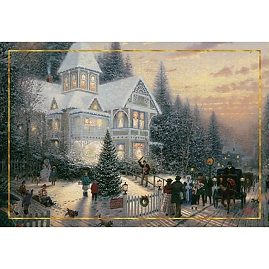 Sunrise Thomas Kinkade Holiday Boxed Cards Assortment