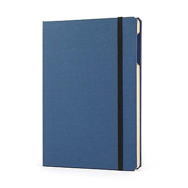 Portenzo BookCase for iPad mini, Blue and Natural Linen