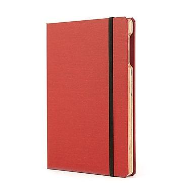 Portenzo BookCase for iPad mini, Red and Natural Linen