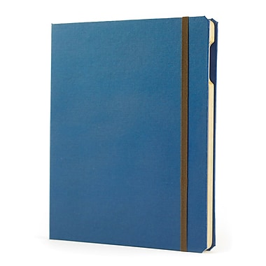 Portenzo BookCase for iPad, Blue and Espresso