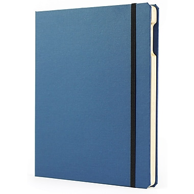 Portenzo BooKCase for iPad, Blue and Natural Linen