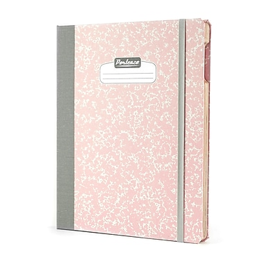 Portenzo BookCase for iPad, Pink Composition