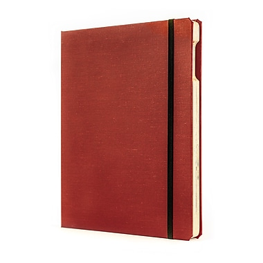 Portenzo BookCase for iPad, Red and Natrual Linen