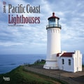 2014 Browntrout Pacific Coast Lighthouses  Square 12x12