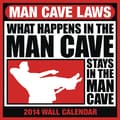 2014 Browntrout Man Cave Laws  Square 12x12 NMR