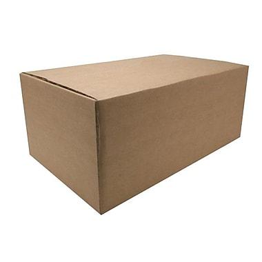 SparcoMC – Boîtes de carton d'expédition ondulées, 8 x 20 x 12 po, papier Kraft, 12/paq.