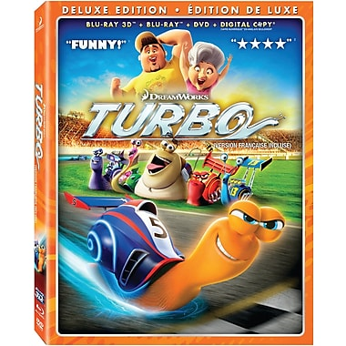 Turbo 3D (Blu-Ray)